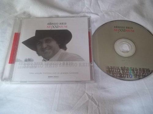 cd - sérgio reis  - maxximum - sertanejo