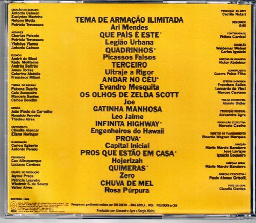 cd sériado armação ilimitada 1988 - série colecionador