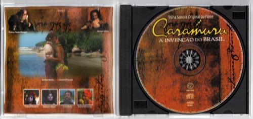 cd série caramurú a invenção do brasil   2000  original