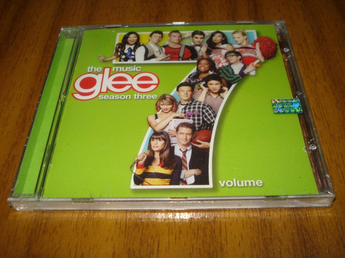 cd serie tv glee / volumen 7 (nuevo y sellado)