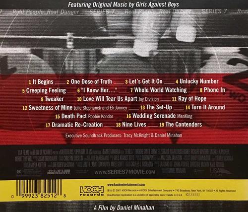 cd series 7 eli janney soundtrack importado de estados u