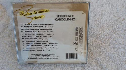 cd serrinha e cabloclinho - raízes da música ja frete 8,00