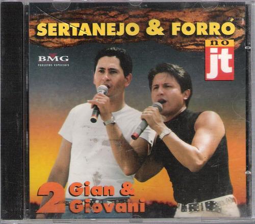 cd sertanejo & forró gian & giovani