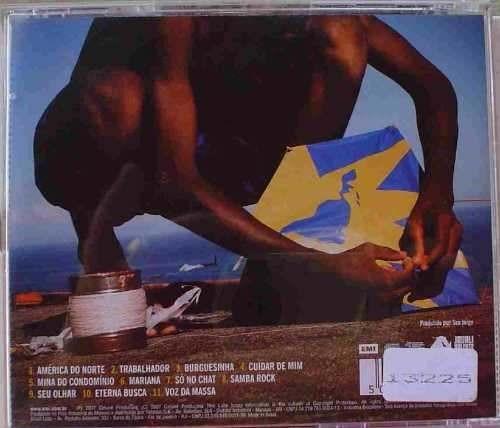 cd  seu jorge  -  américa brasil  - b308