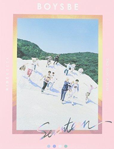 cd : seventeen - boys be (2nd mini album) ver.hide (asia...
