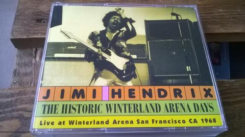 cd sextuple jimi hendrix historic winterland arena days