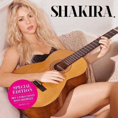 cd shakira deluxe 18 tracks + bonus y remixes thalia