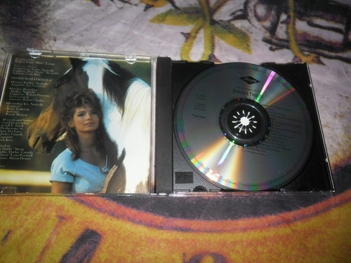 cd shania twain the woman in me