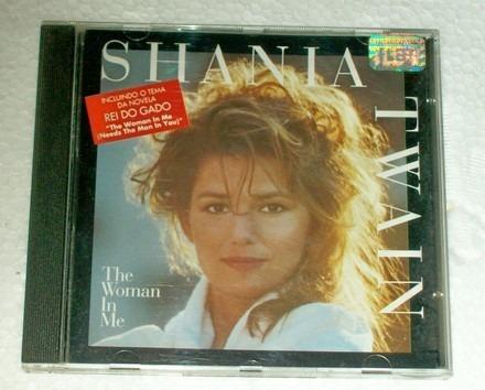 cd-shania twain-the woman in me-nacional-em otimo estado