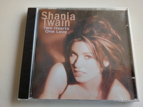 cd  shania twain two hearts one love lacrado de fábrica