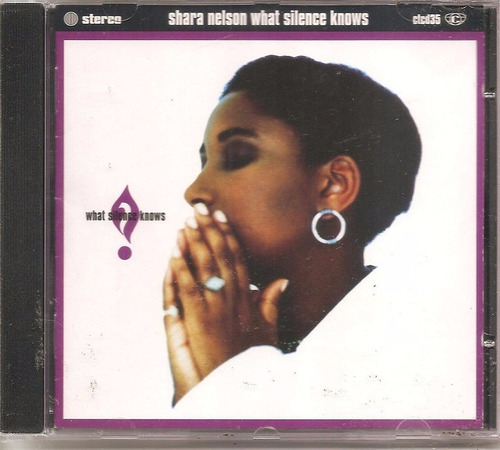 cd shara nelson, what silence knows importado massive attack