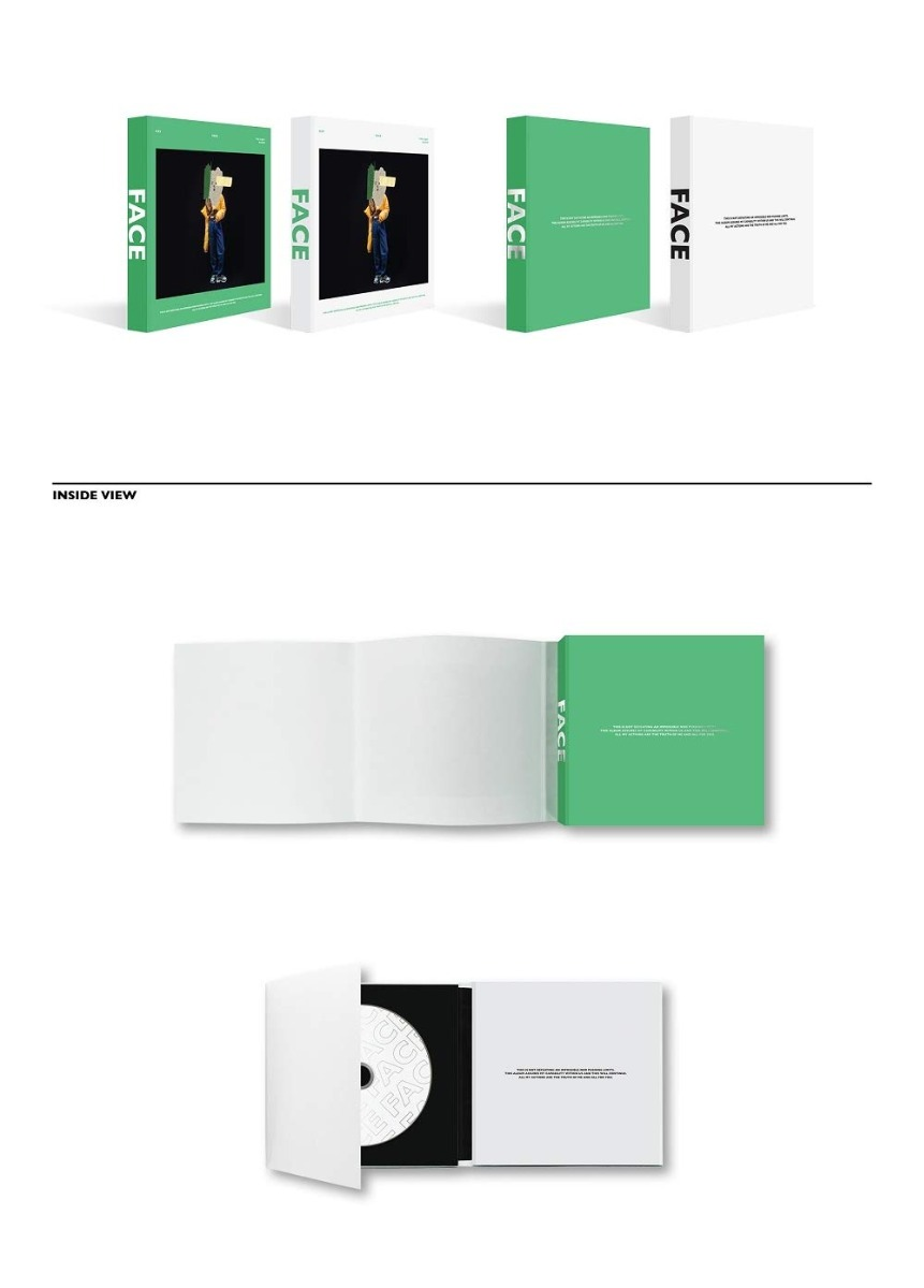 Cd : Shinee Key - [face] 1st Solo Album Random