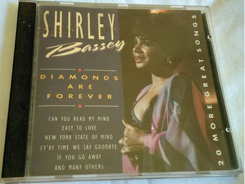 cd shirley bassey diamonds are forever-20 more great songs