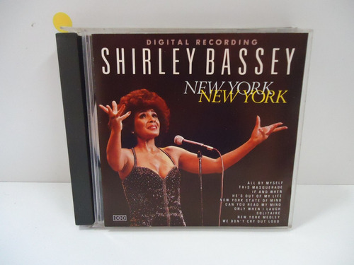 cd shirley bassey - new york, new york - by trekus vintage