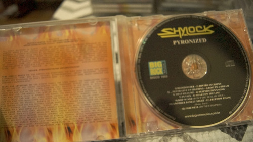 cd shylock - pyronized