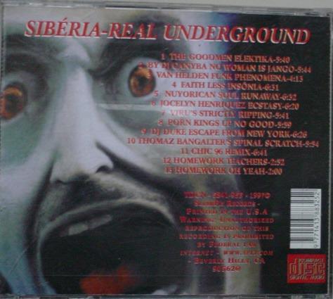 cd    :  sibéria  -  real underground  -  b96