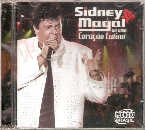 cd sidney magal - ao vivo coração latino - novo***