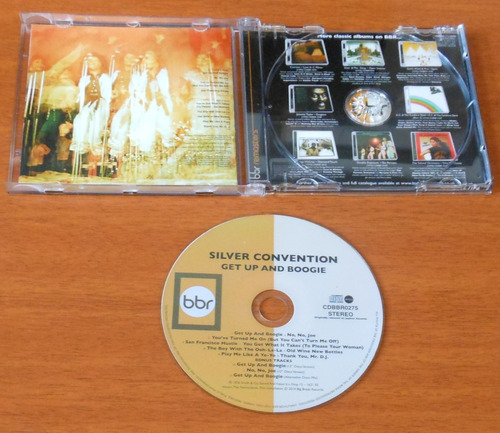 cd - silver convention - get up and boogie - rarríssimo