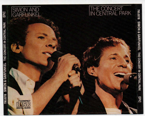 cd simon and garfunkel - the concert in central park - duplo