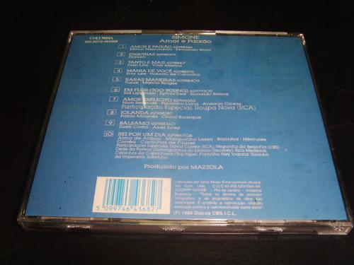 cd - simone - amor e paixão
