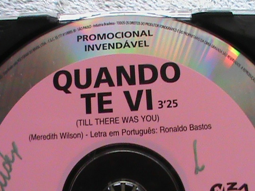 cd simonny - single promocional  quando te vi  1996 mza prod