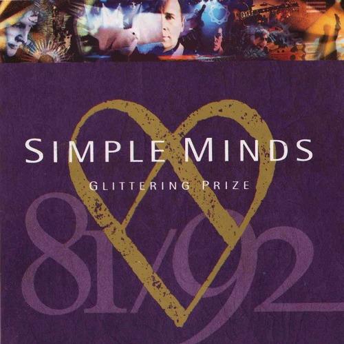 cd simple minds - glittering prize (1981-1992) importado usa