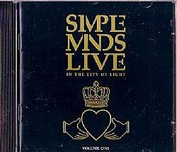 cd simple minds - live vol 1 (usado/otimo)
