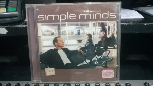 cd - simple minds - néapolis