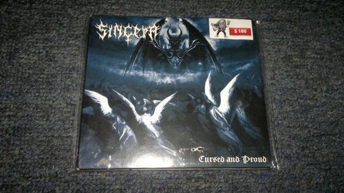 cd sincera cursed and proud importado en formato cd