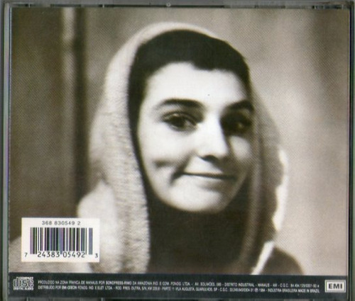 cd sineãd o'connor - universal mother - novo***