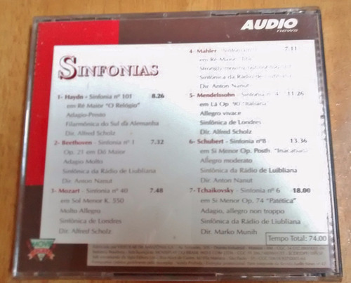 cd sinfonias audio news collection