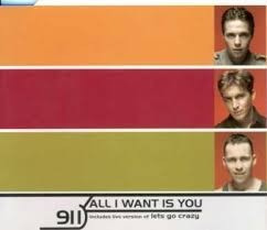 cd single 911 all i want is you 3 x