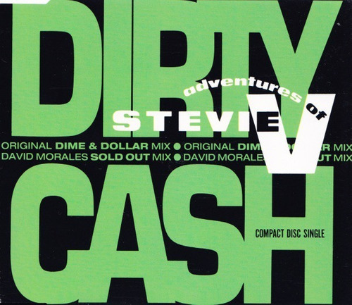 cd single adventures of stevie v - dirty cash