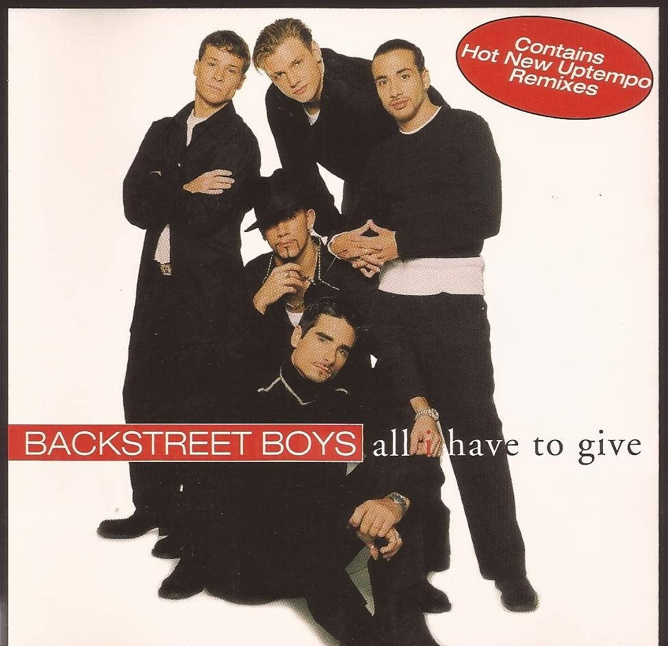 ALL I HAVE TO GIVE Chords - Backstreet Boys | E-Chords