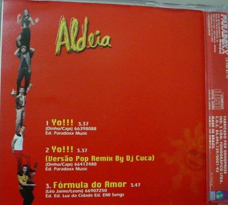 cd  single  banda  aldeia  - b119