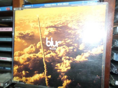 cd single blur - m.o.r. (importado)