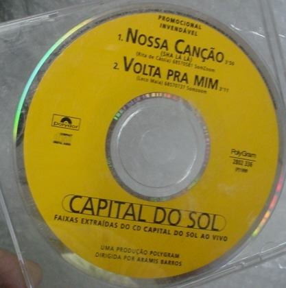 cd single capital do sol   -  b304