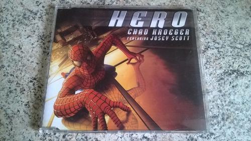 cd single chad kroeger ft. josey scott - hero( homem aranha)