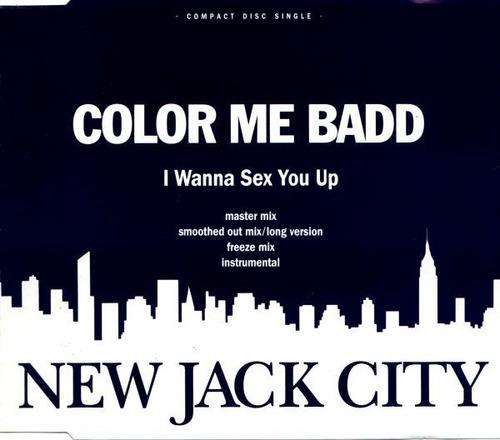 cd single color me badd - i wanna sex you up