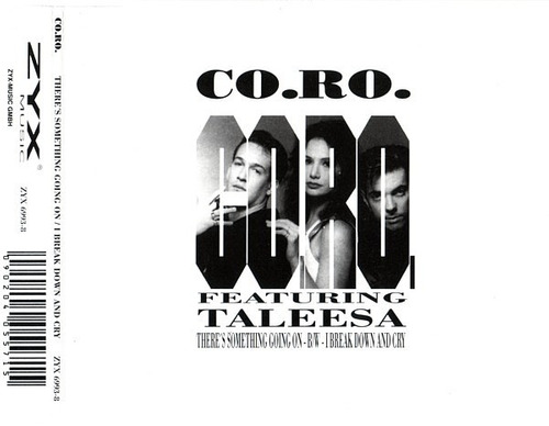 cd single co.ro feat. talessa - there's something going on