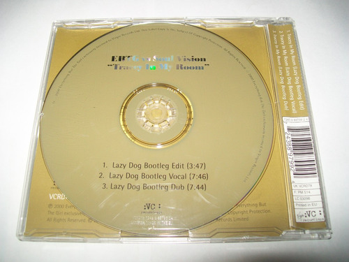 cd single ebtg vs soul vision- tracey in my room** exc. est.