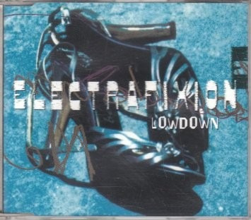 cd-single-electrafixion-lowdown-1995-importado-em otimo esta