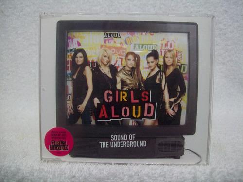 cd single girls aloud- sound of the underground