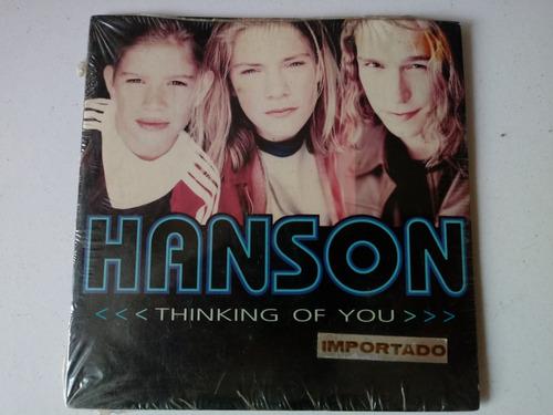 cd single hanson thinking of you lacrado e importado