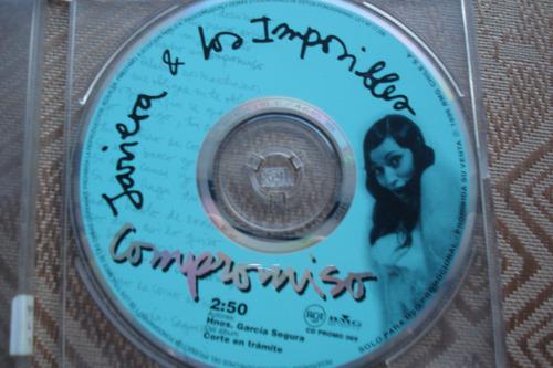 cd single javiera parra compromiso