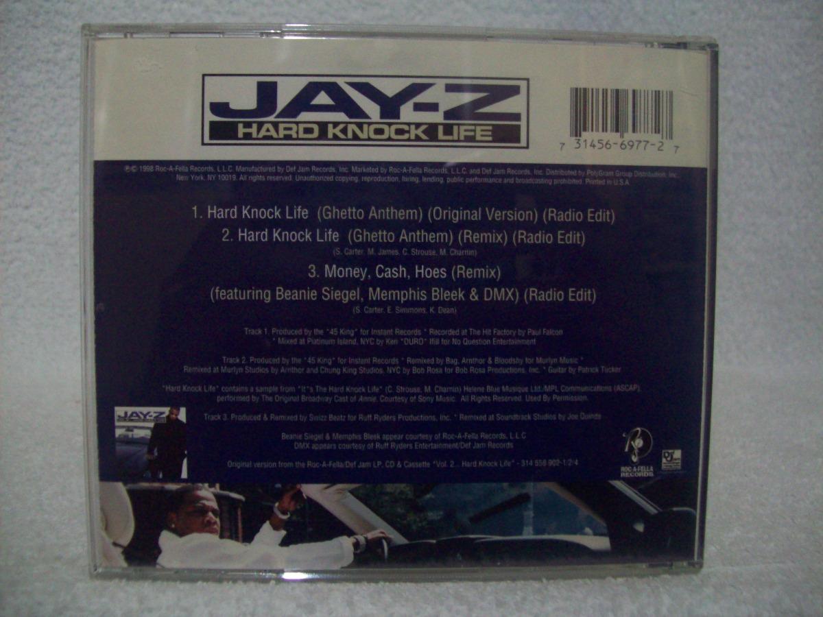 Cd single jay z hard knock life ghetto anthem importado r 30 carregando zoom ccuart Images