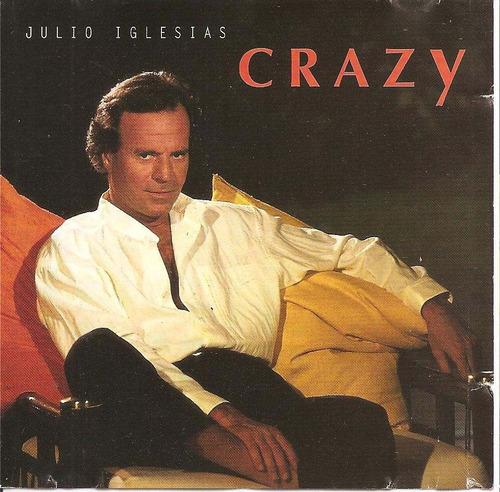 cd single - julio iglesias - crazy - 1994 - importado