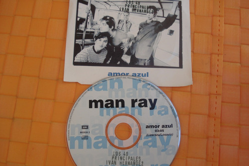 cd single man ray amor azul