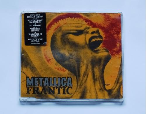 cd single metallica - frantic exclusive benelux edition raro