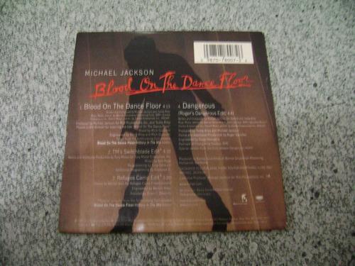cd-single-michael jackson-blood on the dance floor